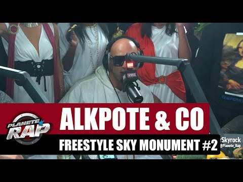 Youtube: Alkpote & Co – Freestyle Sky Monument #2 avec Luv Resval & Savage Toddy #PlanèteRap