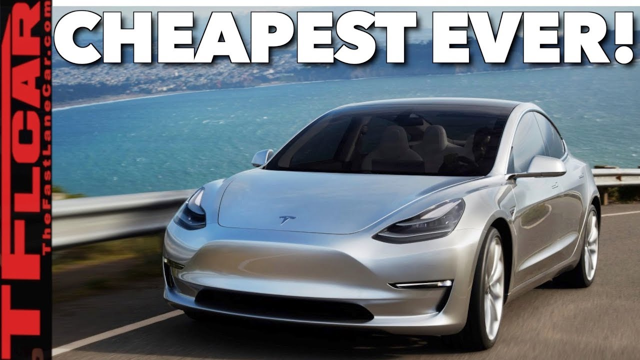 Breaking News Here S What You Get And Don T If Spend 35k On The New Tesla Model 3