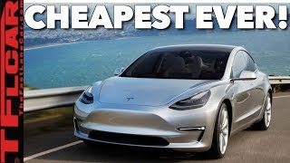 Breaking News! Here's What You Get (And Don't Get) If You Spend $35K on the New Cheap Tesla Model 3