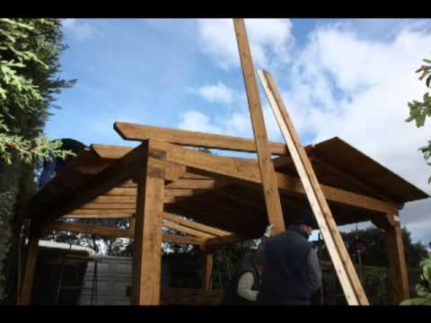 Hacer porche de madera youtube - Como hacer un porche de madera ...