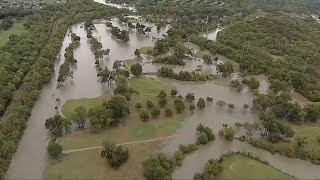 Parte de Texas inundado por Patricia