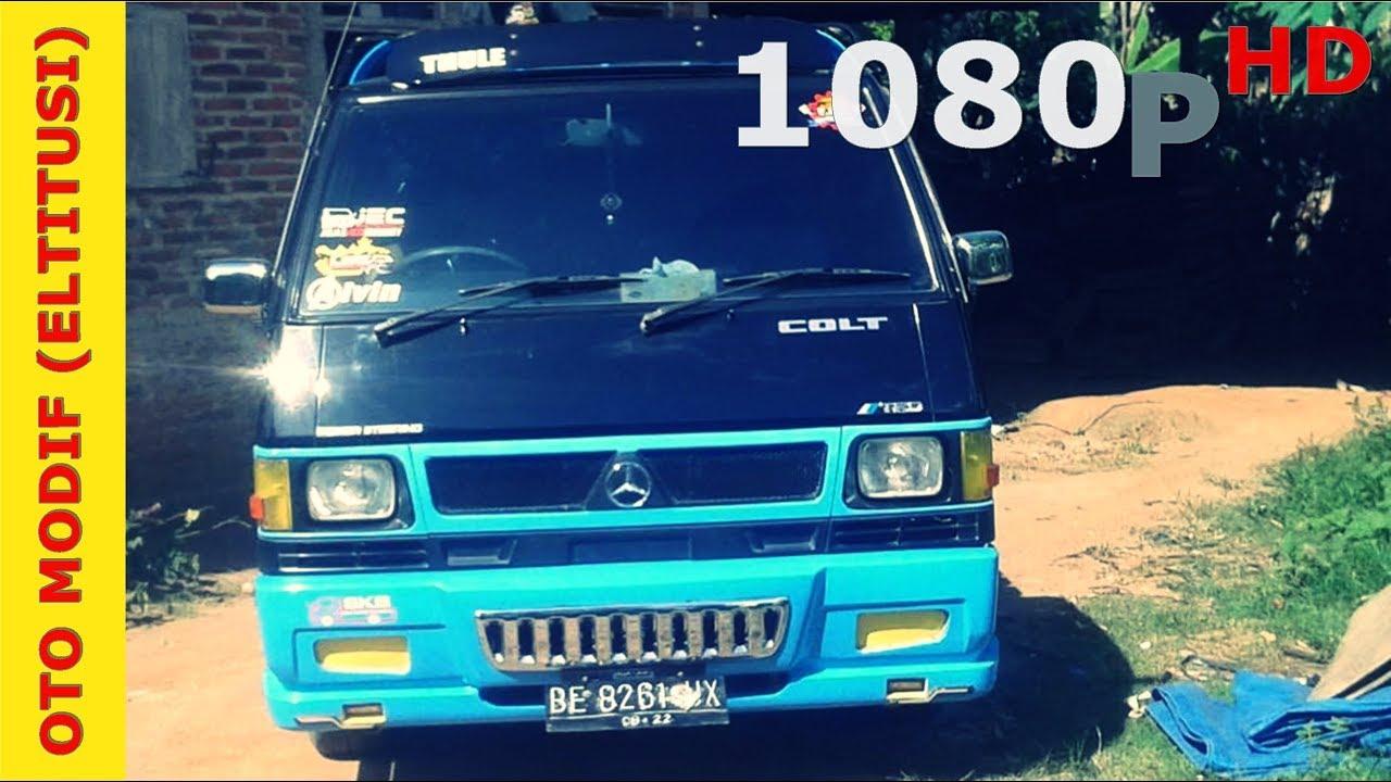 Modifikasi Mobil Pick Up L300 Serasa Naik Mercy Bandar