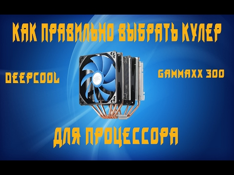 Кулер DeepCool GAMMAXX 300