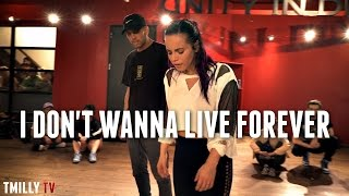 "Jake Kodish & Jojo Gomez perform ""I Don't Wanna Live Forever"" Choreography by Alexander Chung"