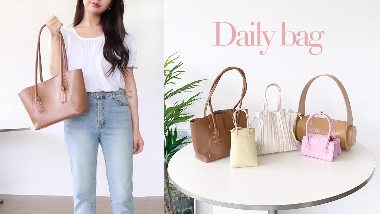 Daily bag🌷여름에 휘뚜루마뚜루 잘 메는 8가지 가방 소개! (1만원~20만원대 / 쇼핑몰, 디자이너브랜드) | jianssi