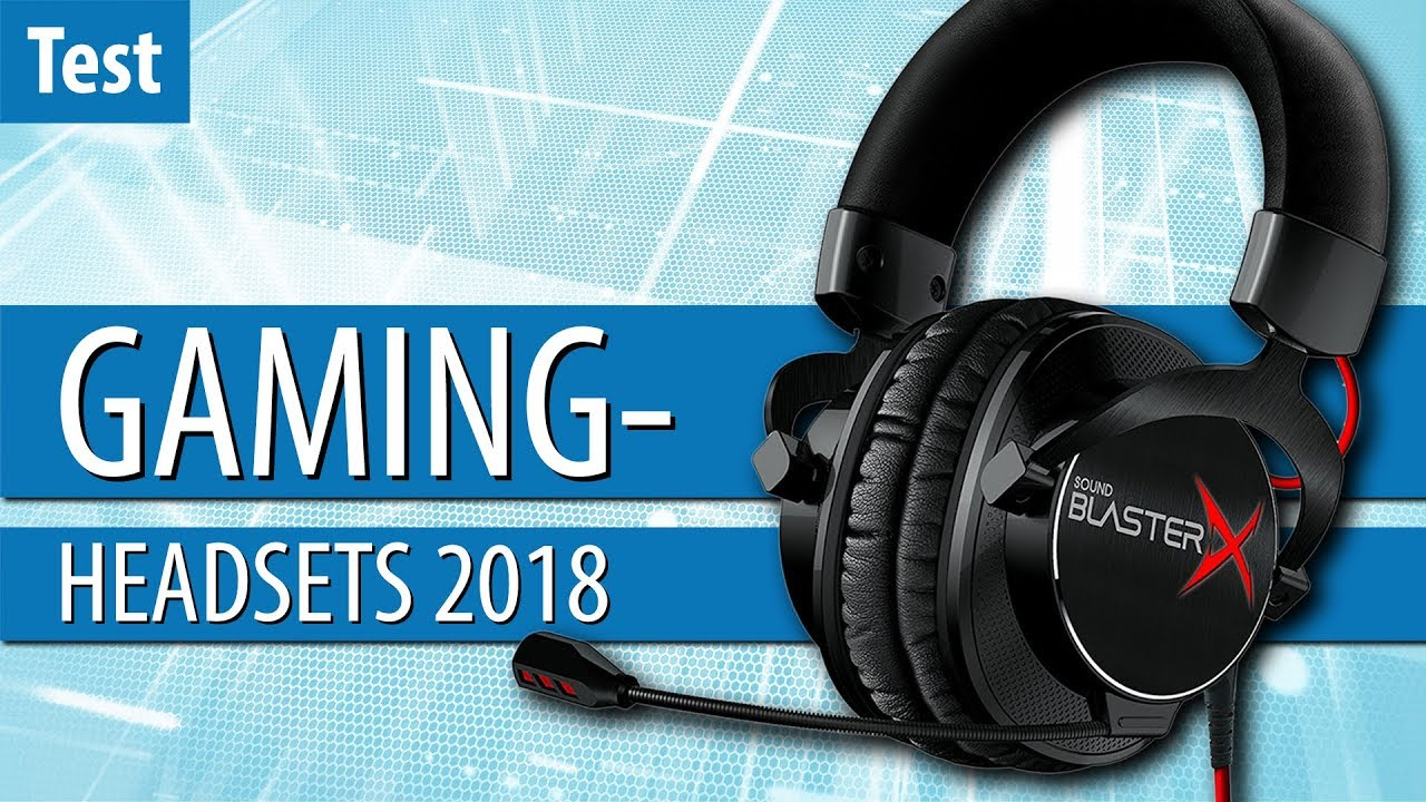 die besten gaming headsets 2018 im test gaming pc youtube. Black Bedroom Furniture Sets. Home Design Ideas