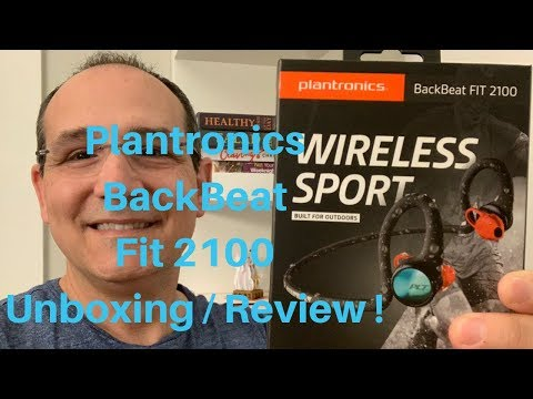 Plantronics BackBeat Fit 2100 Unboxing and Review!