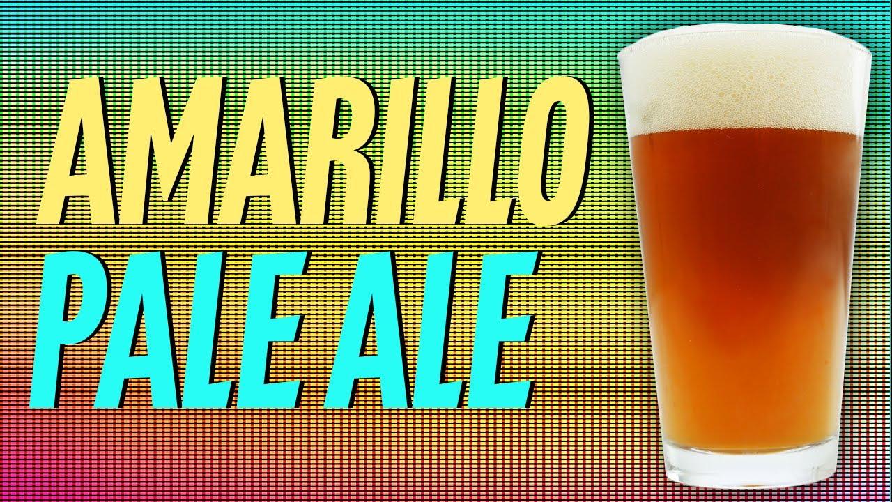 Amarillo Pale Ale Homebrew Recipe