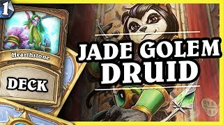 jade golem druid druid 1 2 hearthstone decks