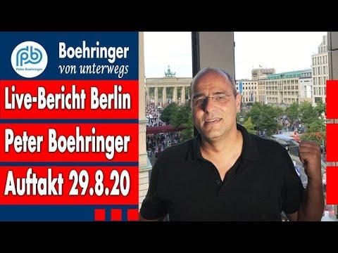 """""""Corona-Lügen offenlegen"""": vom Auftakt der großen Demo für Freiheit - Boehringer von unterwegs (4)"""