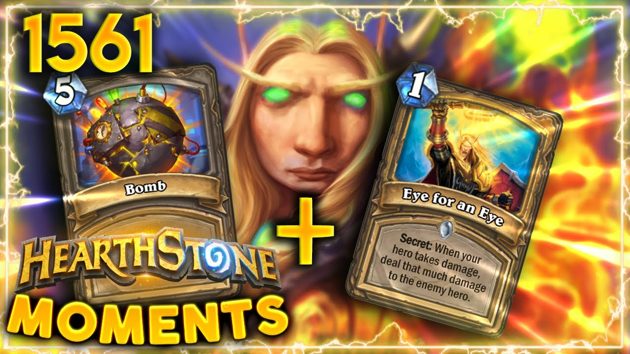 EPIC Eye For An Eye & Bomb Interaction! | Hearthstone Daily Moments Ep.1561