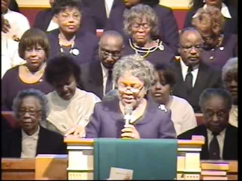 Rev. Dorothy Nell WIlliams Harrison. Home Going Service Part 2