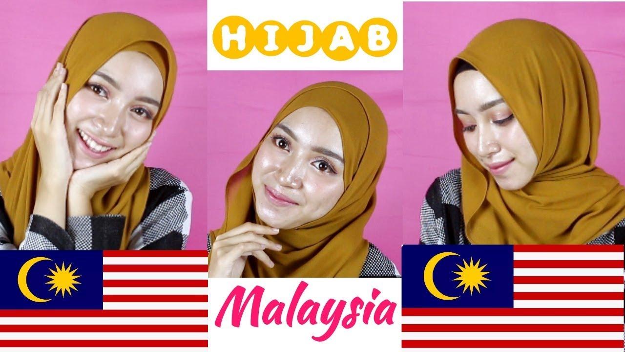 Tutorial Hijab Ala Selebgram Malaysia Youtube