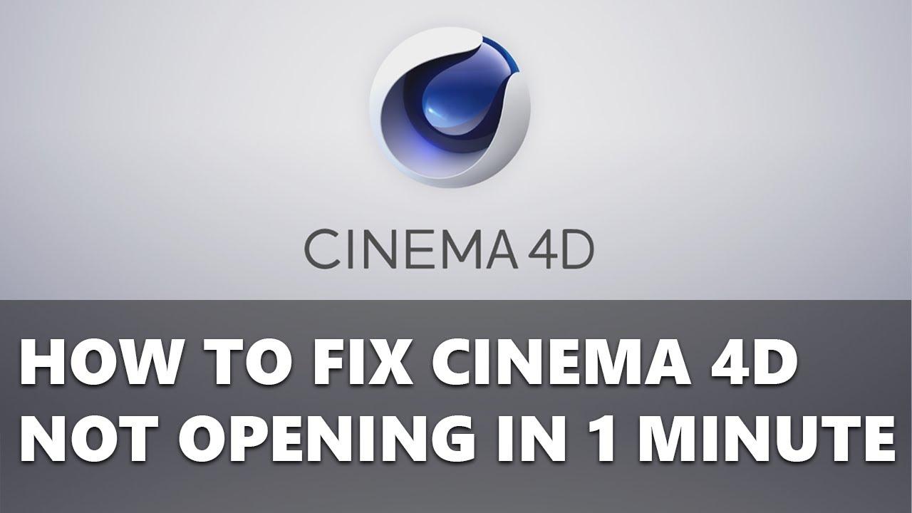cinema 4d lite not opening mac