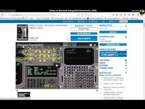 Video on Demand: Integrated Simavionics [English]
