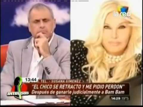 En Chile se burlan de la polémica entre Bam Bam y Susana