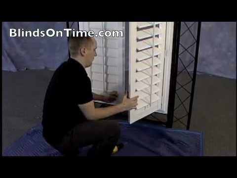 HowTo Install Your Shutters