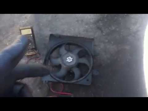 testcheck  radiator fan bypass coolant temp
