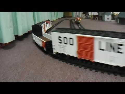 Garden Railroad At Toy Train Show in Englewood FL