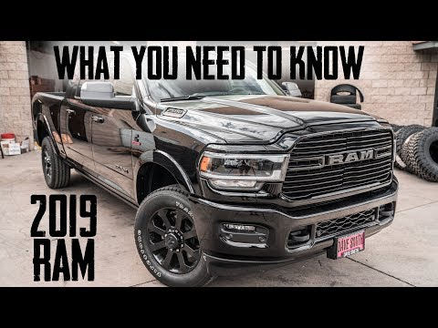 What's New on the 2019 RAM