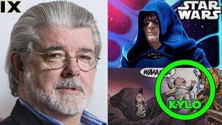 George Lucas Version of Palpatine's Return Revealed...Let's Read it - Star Wars 9
