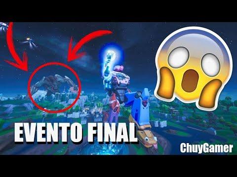 Asi Fue El Evento Final | ChuyGamer | Fortnite