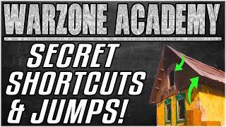THE BEST SHORTCUTS & JUMP SPOTS IN WARZONE PART 2 - Outplay & Outsmart Campers [Warzone Academy]
