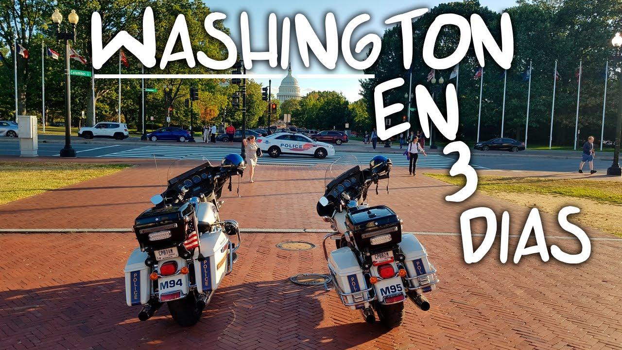 QUÉ VER en WASHINGTON DC en 3 días (MibauldeblogsTV)