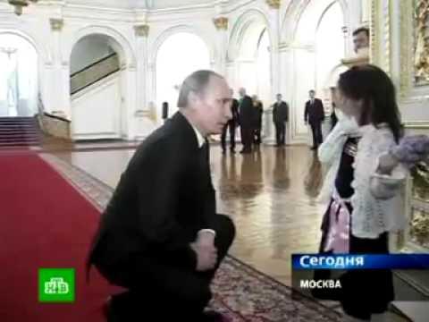Девочка Соня выпросила у Путина экскурсию по Кремлю!