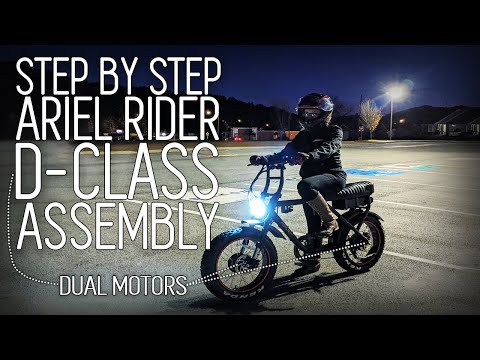 How to Assemble the Ariel Rider D-Class eBike + DRONE FOOTAGE