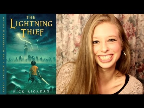 THE LIGHTNING THIEF BY RICK RIORDAN: booktalk with XTINEMAY