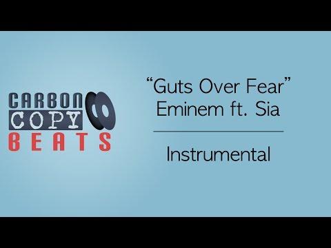 Guts Over Fear - Instrumental / Karaoke (In The Style Of Eminem ft. Sia)