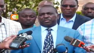 Why Kirinyaga Governor Ndathi did not vote for himself in Jubilee Primaries