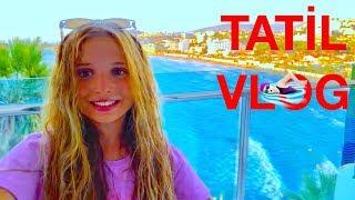 Tatil Vlog. Aquapark, Konser, Plaj. Ecrin Su Çoban