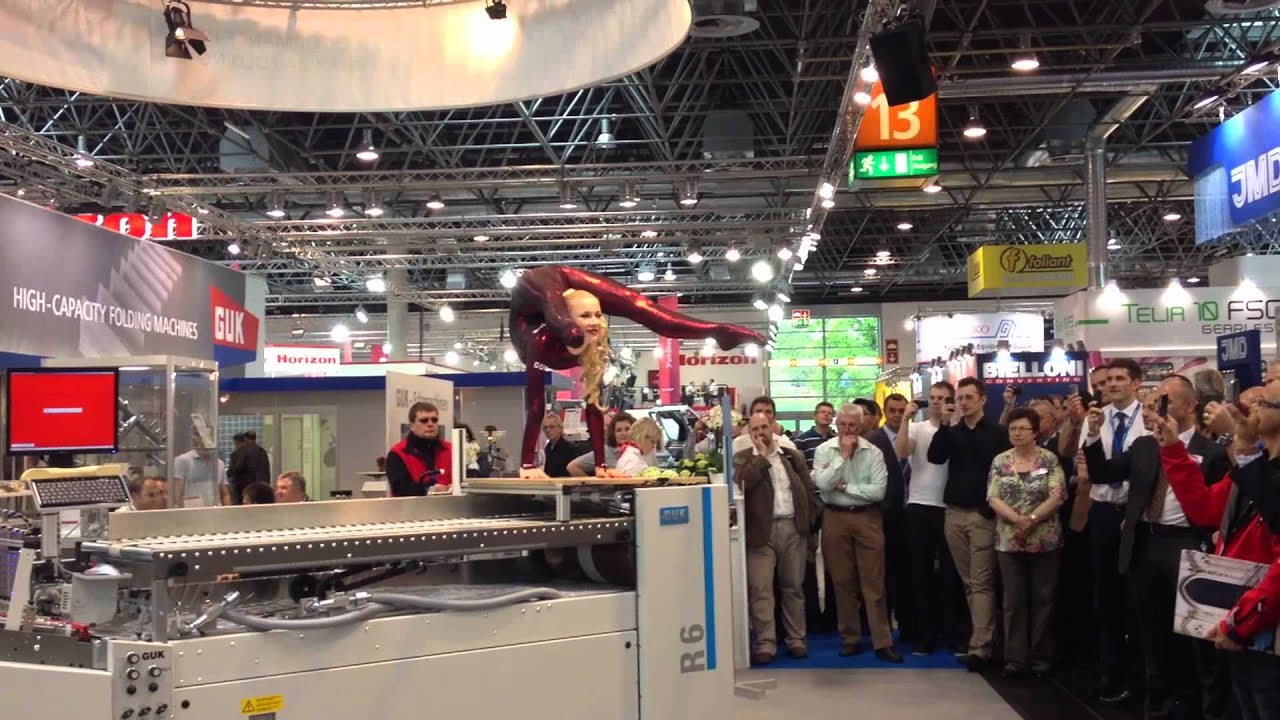 Zlata Contortionist For Guk Folding Machines Drupa