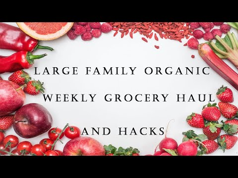 Weekly Organic WALMART Haul & Hacks & Family Vlog