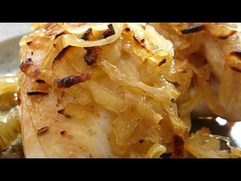 recette-:-poulet-aux-oignons-ultra-facile