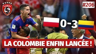 Replay #206 : Debrief Pologne vs Colombie (0-3) COUPE DU MONDE 2018 - #CD5