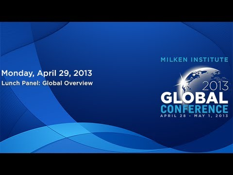 Lunch Panel: Global Overview