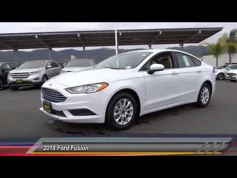 2018 Ford Fusion TEMECULA BEAUMONT MENIFEE PERRIS LAKE ELSINORE MURRIETA R181050