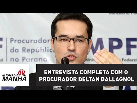 Entrevista completa com o procurador do MPF, Deltan Dallagnol