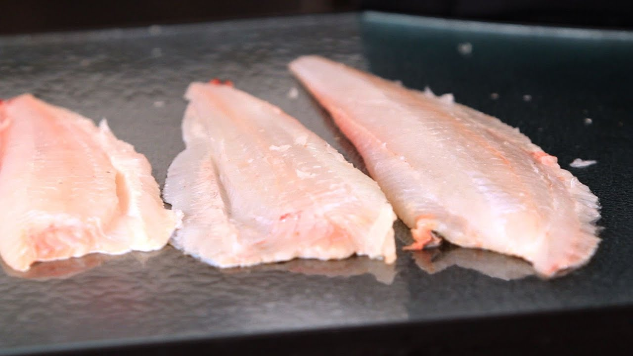 How to Buy \u0026 Cook Flounder | Fish Filleting - YouTube