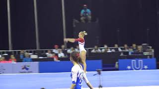 2017 Universiade Qualification RUS FX Daria Spiridonova