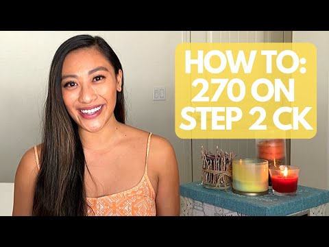 HOW I SCORED 270+ ON STEP 2 CK: FREE DOWNLOADABLE SCHEDULE