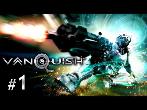 Vanquish PC Gameplay Walkthrough Part 1 - Knee Slidin' Bullet-Time Awesomeness