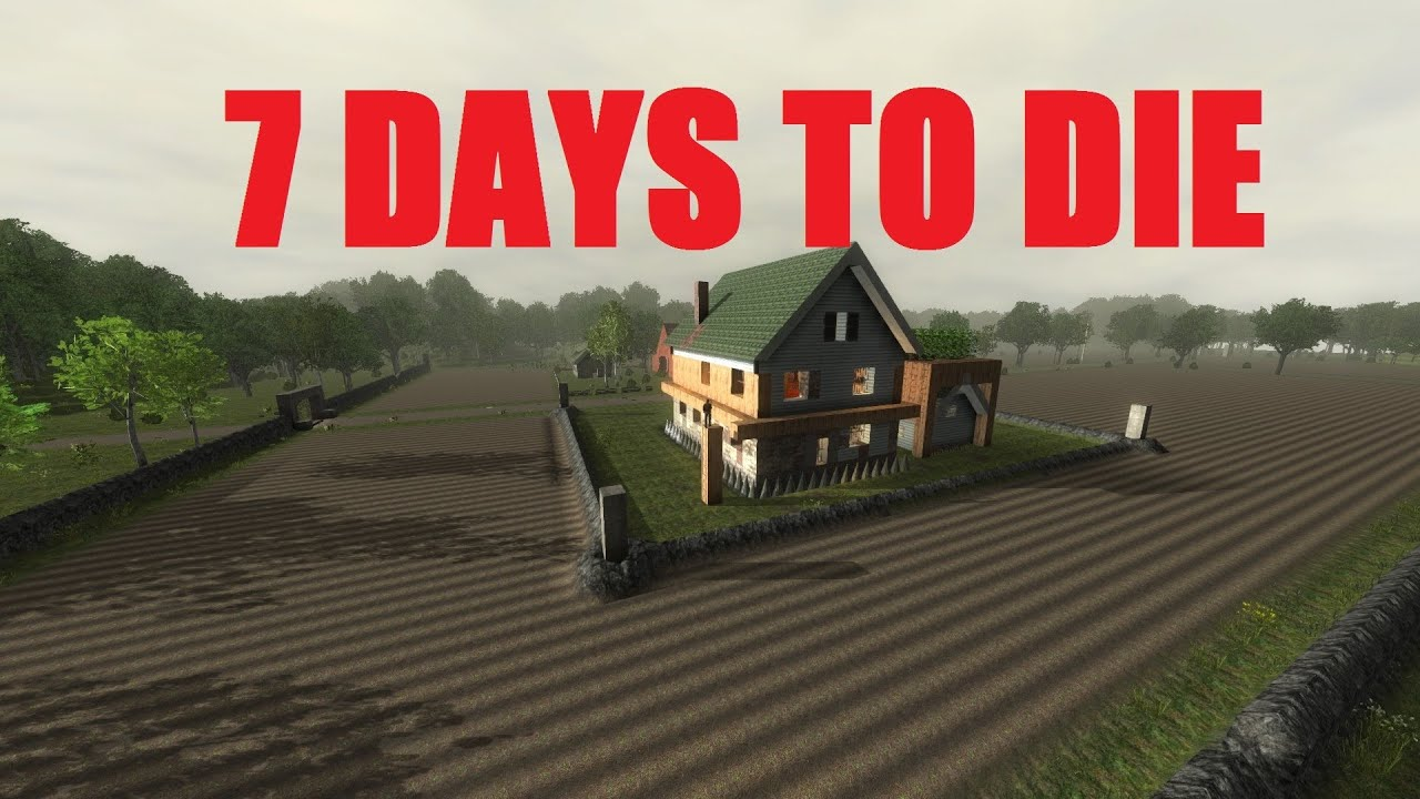 7 days to die base terraforming. Black Bedroom Furniture Sets. Home Design Ideas