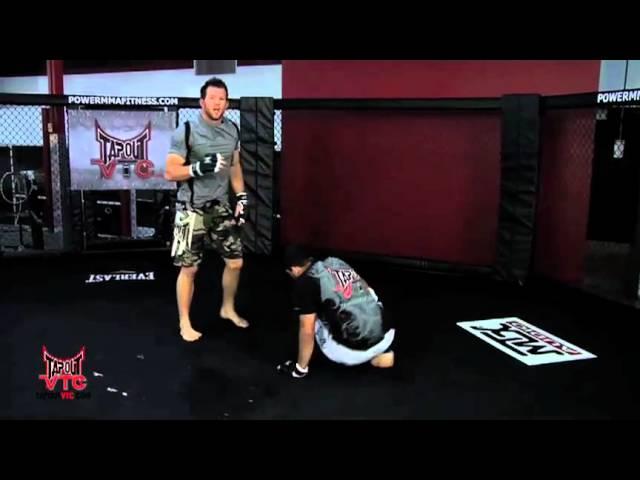 Wrestling Training: Double Leg Takedown with Ryan Bader