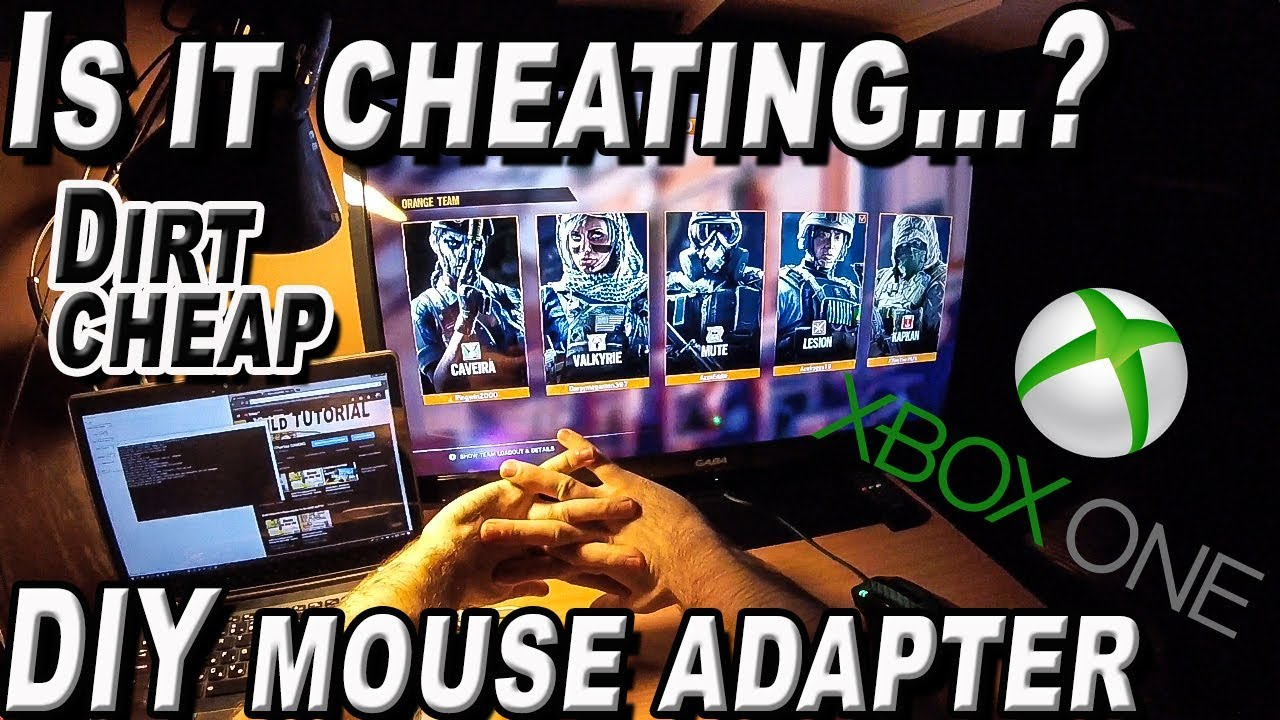 How to Play Siege with Mouse on Xbox ONE / PS4 - Cheapest DIY HACK - Is  GimX cheating?