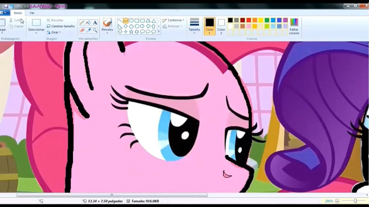 Speedpaint My Little Pony Base Pinkie Pie And Rarity Youtube