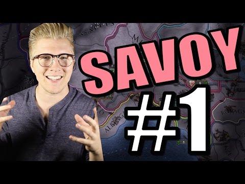Let's Play Europa Universalis IV [EU4 Common Sense] Gameplay: Savoy [Part 1]